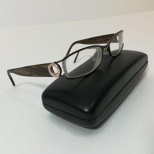 Rampage 105 Eyeglasses Glasses Metal Bronze Brown